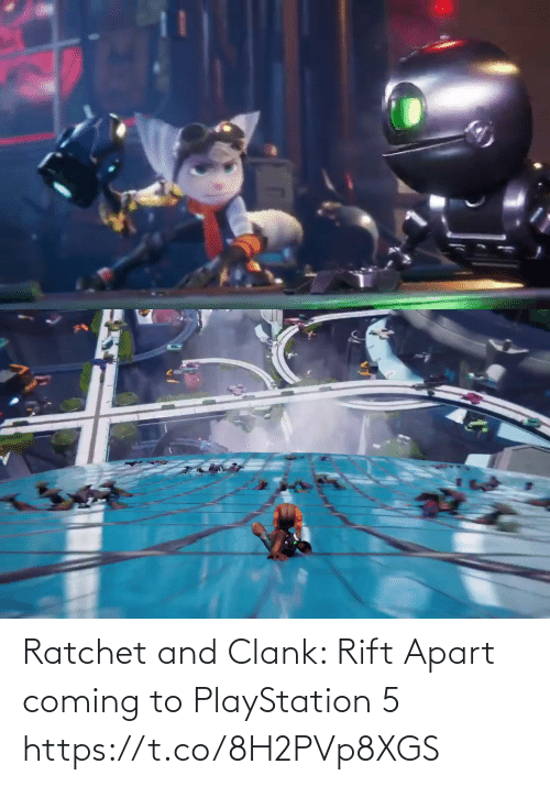 Apart: Ratchet and Clank: Rift Apart coming to PlayStation 5 https://t.co/8H2PVp8XGS