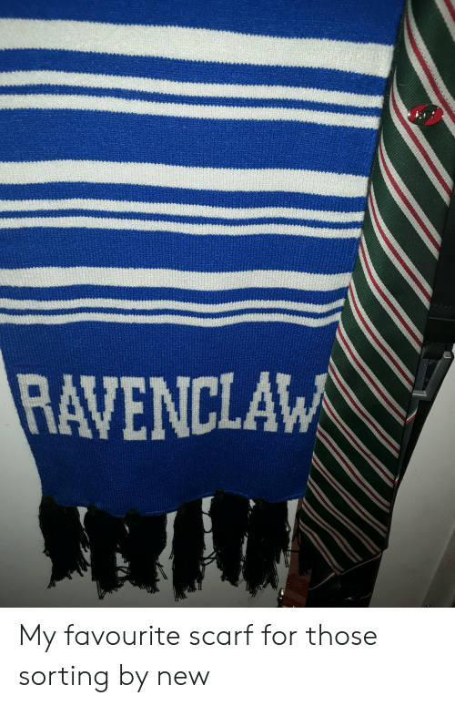 ravenclaw: RAVENCLAW My favourite scarf for those sorting by new