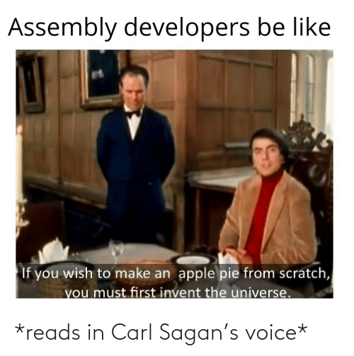 carl: *reads in Carl Sagan's voice*