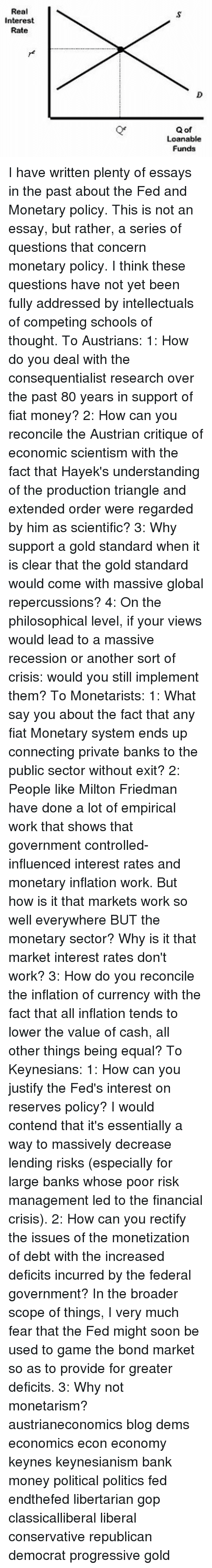 milton friedman essays debates why is libertarianism wrong the  meme real interest rate q of loanable funds i have written plenty memes recess and fiat lanny ebenstein the indispensable milton friedman