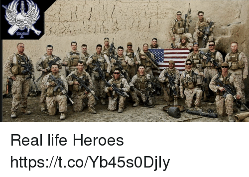 Life, Memes, and Heroes: Real life Heroes https://t.co/Yb45s0DjIy