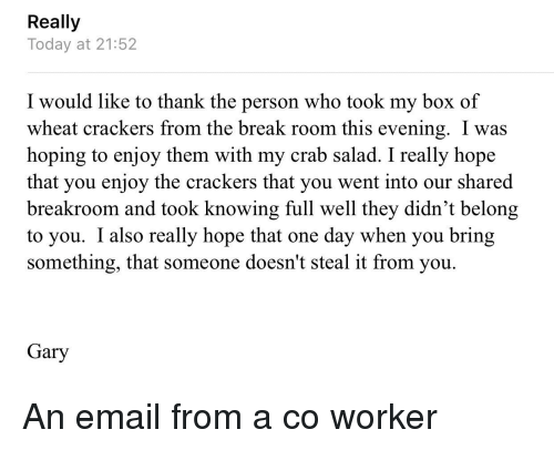 Funny Break And Email Really Today At  I Would Like