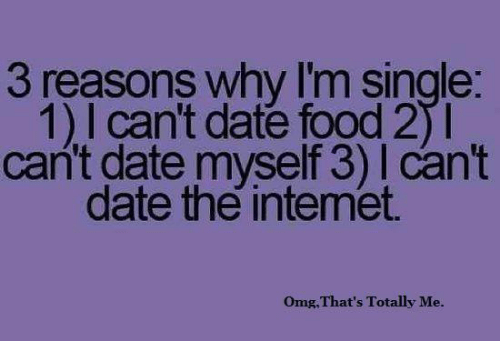 Reasons why online dating i food
