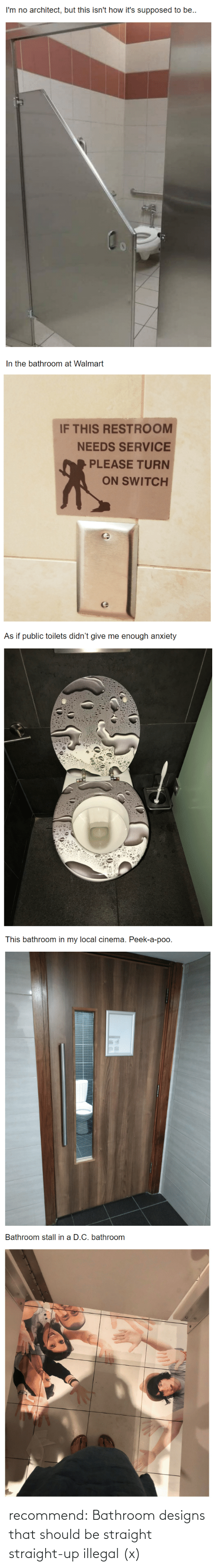 illegal: recommend:  Bathroom designs that should be straight straight-up illegal (x)