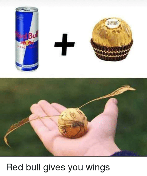 red bull gives you wings