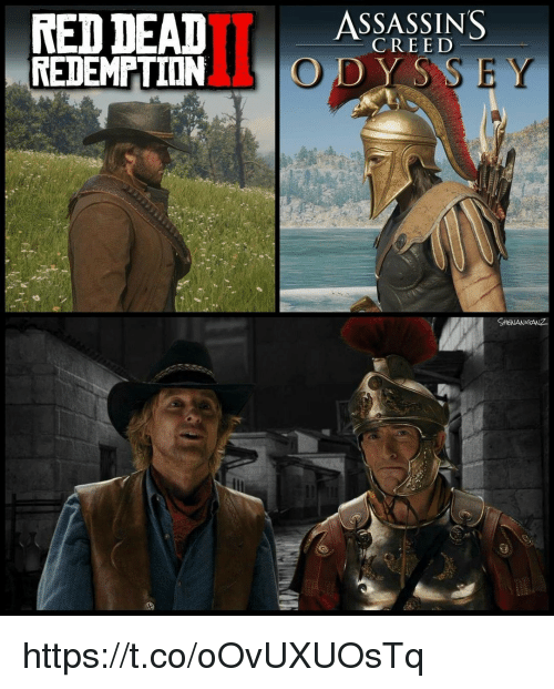 dys: RED  DEAD  SSSSINS  CREED  REDEMPTIONO DYS  SHENANIGANZ https://t.co/oOvUXUOsTq