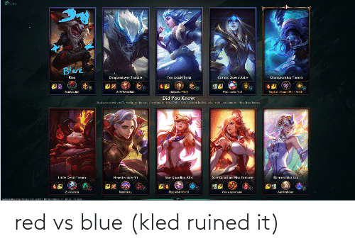 Red vs. Blue: red vs blue (kled ruined it)