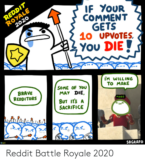 battle: Reddit Battle Royale 2020