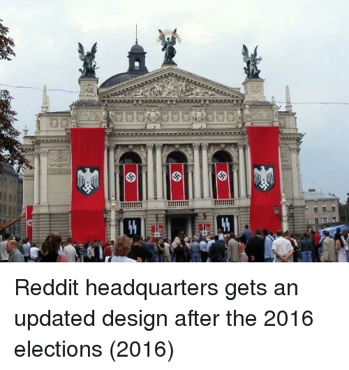 Elections: Reddit headquarters gets an updated design after the 2016 elections (2016)