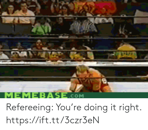Doing It Right: Refereeing: You're doing it right. https://ift.tt/3czr3eN