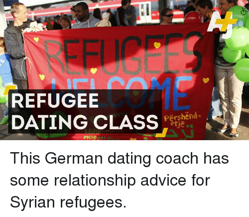 Dating refugees