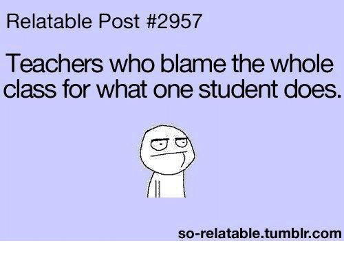 are teachers to blame for the