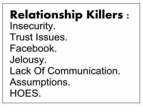 insecurity relationship