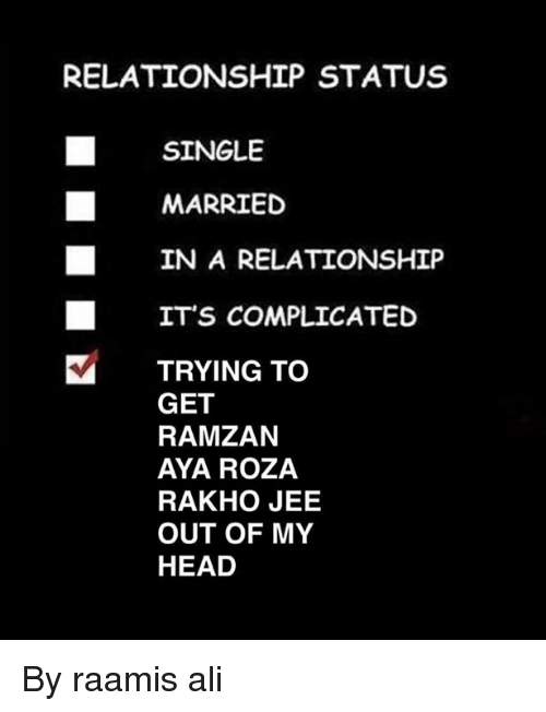 happy in relationship status complicated