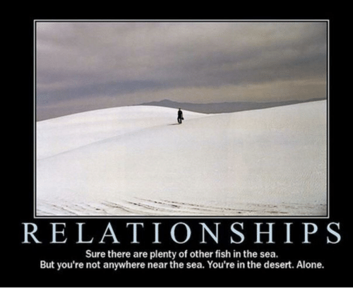 Relationships sure there are plenty of other fish in the for Other fish in the sea