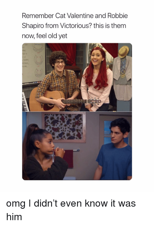 Victorious: Remember Cat Valentine and Robbie  Shapiro from Victorious? this is them  now, feel old yet omg I didn't even know it was him