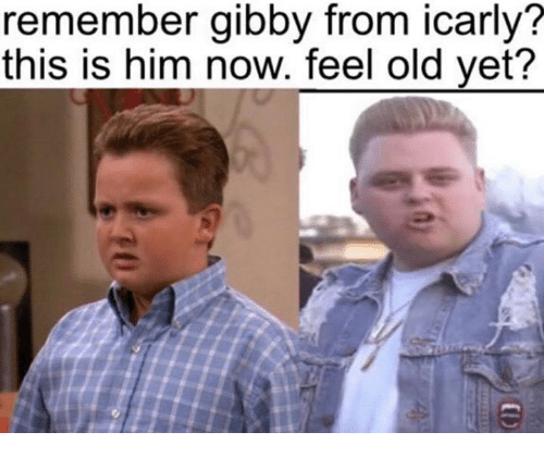 Feeling Old: remember gibby from icarly?  this is him now. feel old yet?