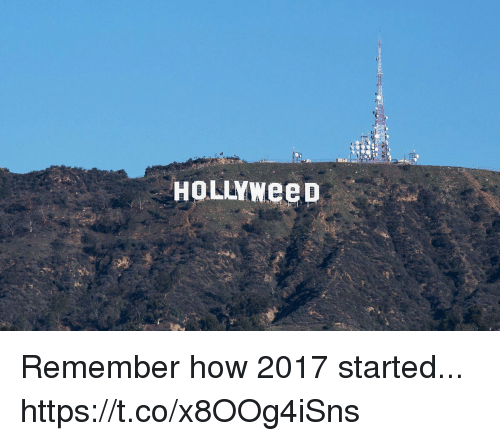 Girl Memes, How, and Remember: Remember how 2017 started... https://t.co/x8OOg4iSns