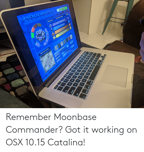 catalina: Remember Moonbase Commander? Got it working on OSX 10.15 Catalina!