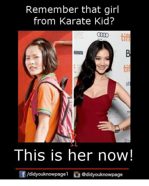 Karate kid 2010 girl