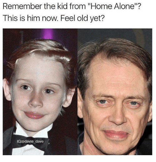 12yrs Ago Vs Now Teel Old Yet Remember The Kid From Home Alone This