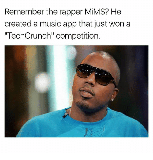 """Memes, Music, and 🤖: Remember the rapper MiMS? He  created a music app that just won a  """"TechCrunch"""" competition."""