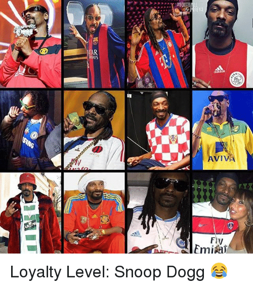 Dogges: RENA  TAR  AVI  VIVA  Fly  Emifi Loyalty Level: Snoop Dogg 😂