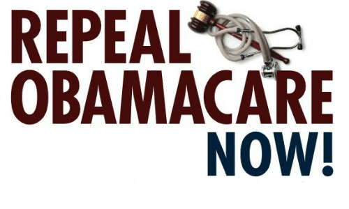 Image result for repeal obamacare now