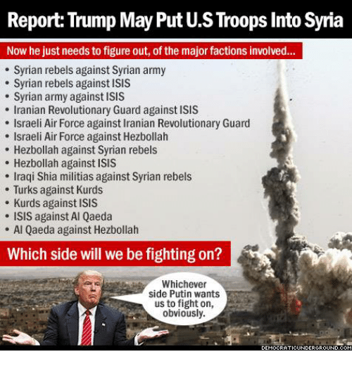 Image result for trump syria meme