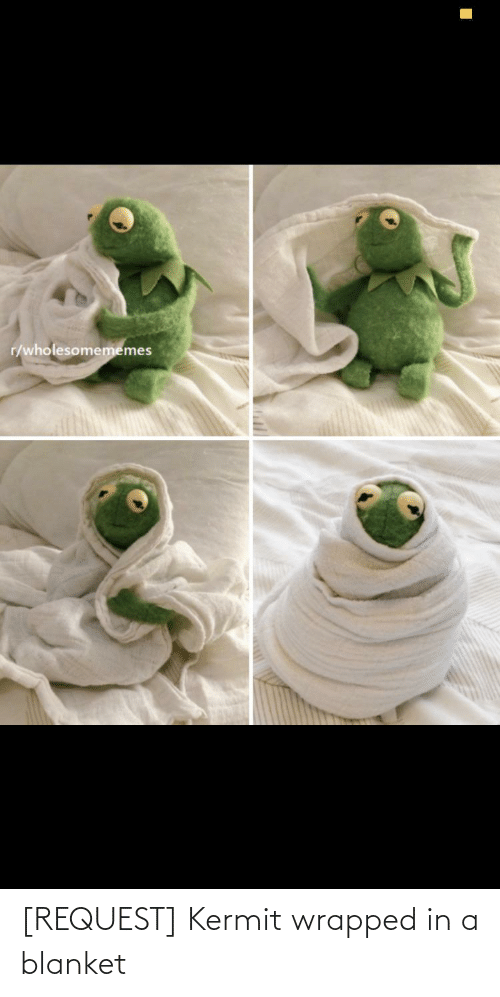 blanket: [REQUEST] Kermit wrapped in a blanket