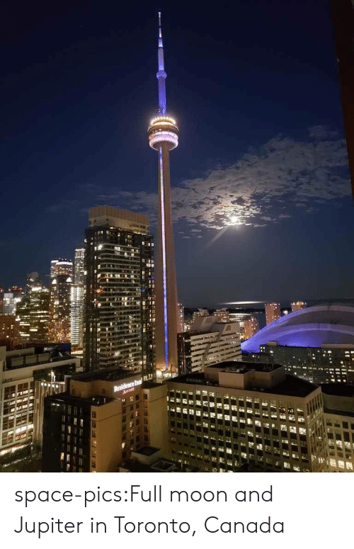 Toronto: Residence In space-pics:Full moon and Jupiter in Toronto, Canada
