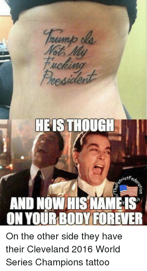 25 best memes about 2016 world series 2016 world series for World series tattoo
