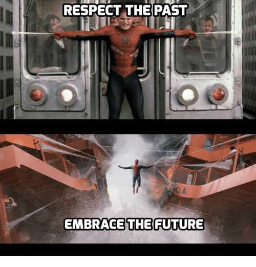Respect The Past Embrace The Future