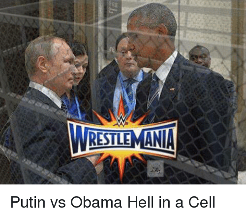 Putin: RESTLEMANIA Putin vs Obama Hell in a Cell