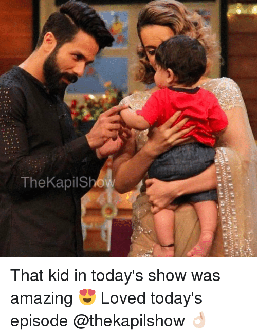 Dekh Bhai, Amazing, and International: re'te frie it te.ina  TheKapis That kid in today's show was amazing 😍 Loved today's episode @thekapilshow 👌🏻