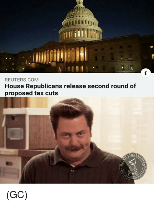 Reuters: REUTERS.COMM  House Republicans release second round of  proposed tax cuts  BERT (GC)