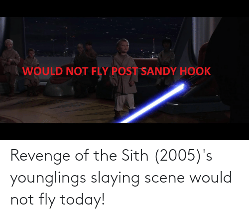 slaying: Revenge of the Sith (2005)'s younglings slaying scene would not fly today!