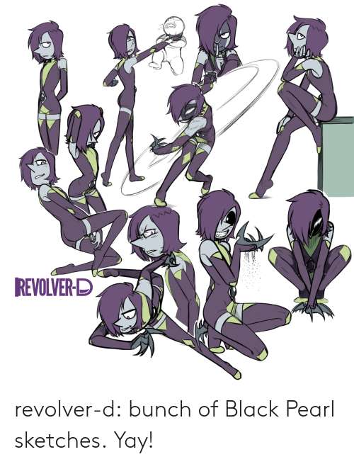 revolver: REVOLVER-D revolver-d:  bunch of Black Pearl sketches.  Yay!
