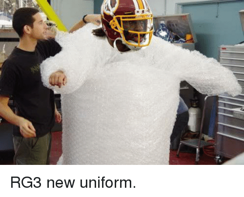 RG3: RG3 new uniform.