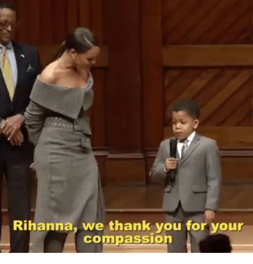 Conne: Rihanna, we thank you for your  Conn passion
