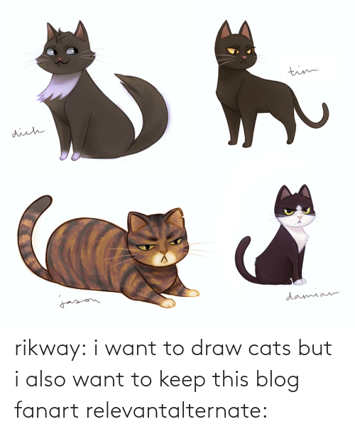 Cats, Target, and Tumblr: rikway:  i want to draw cats but i also want to keep this blog fanart relevantalternate: