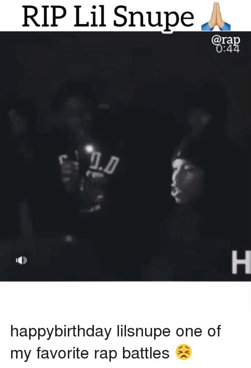 Rap Battles: RIP Lil Snupe A  ra  :4 happybirthday lilsnupe one of my favorite rap battles 😣