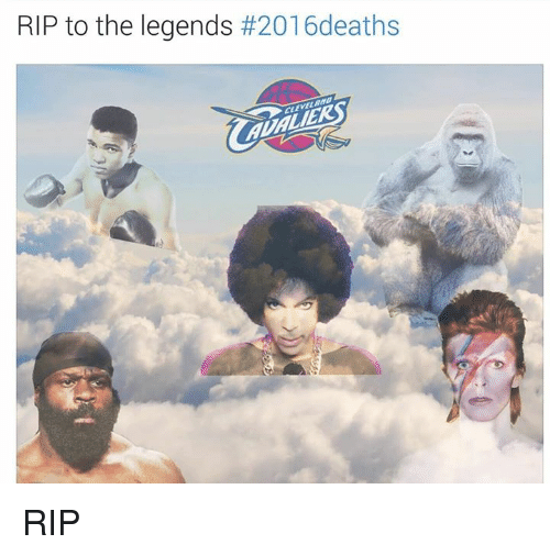 SIZZLE: RIP to the legends  RIP