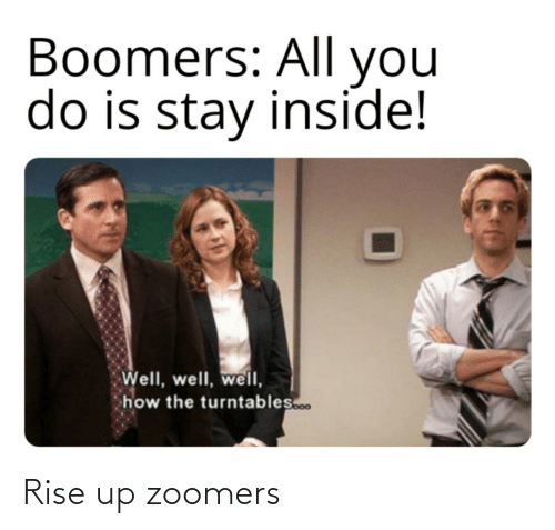 Zoomers,  Rise Up, and Rise: Rise up zoomers