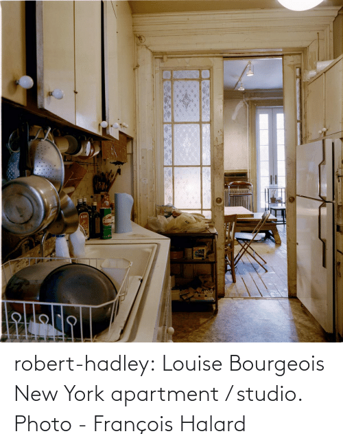 york: robert-hadley:  Louise Bourgeois New York apartment / studio. Photo - François Halard