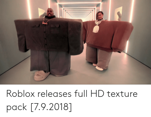 texture: Roblox releases full HD texture pack [7.9.2018]