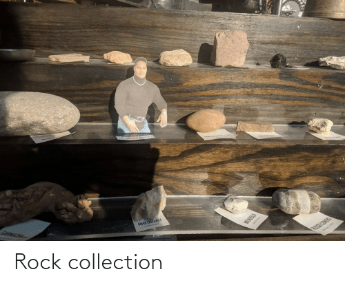 rock: Rock collection
