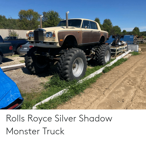 Silver: Rolls Royce Silver Shadow Monster Truck