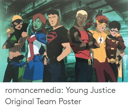 team: romancemedia: Young Justice Original Team Poster