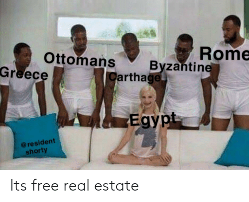carthage: Rome  Ottomans  Greece  Byzantine  Carthage  Egypt  @resident  shorty Its free real estate